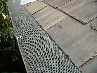 Gutter guard in Carnesville